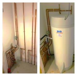 Cylinder installation