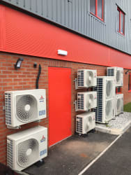 External condensing units for commercial