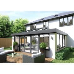 Rear extension with roof light