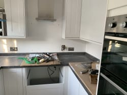 Love adding that finish touch to a new kitchen that has been fitted! Chrome sockets really set this kitchen off