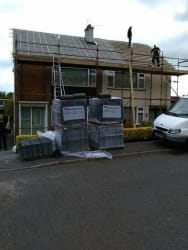 2 New Roofs Going on