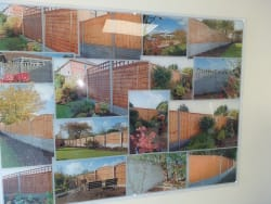 All types of new fencing gravel boards and posts