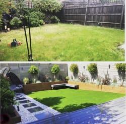 Complete garden makeover