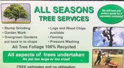 All Seasons Tree Services logo