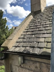 Cover photos of TGW roofing and building