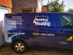 Simon Bozier Plumbing and Heating Logo
