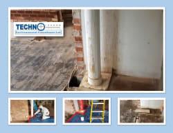 Cement Flue Removal of Techno Environmental consultants ltd