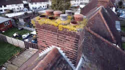We offer drone services as well to show customers there roofs