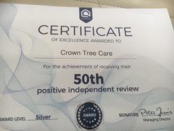 CROWN TREE CARE Logo