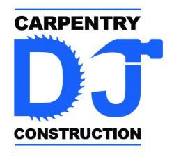 DJ Carpentry And Construction Logo