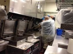 Restaurant deep clean