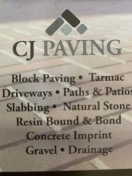 CJ PAVING  Logo