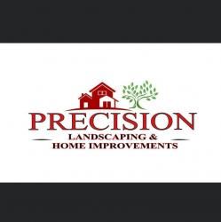 Precision Landscaping and Home Improvements logo
