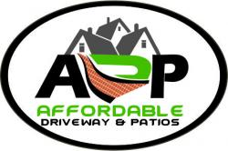 Affordable driveway and patios logo