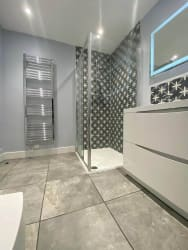 job example - bathroom installation Glasgow