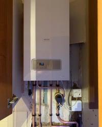 New boiler installed