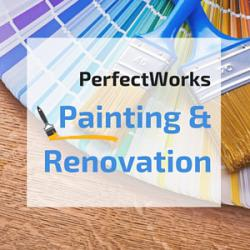 PerfectWorks Painting & Renovation Logo
