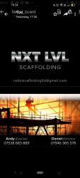 NXT LVL SCAFFOLDING LIMITED Logo