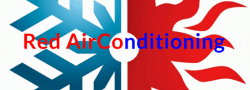 Red Air Conditioning Logo