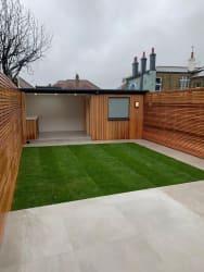 Garden Structure with Cedar Cladding