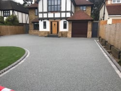 New Resin install in Northwood