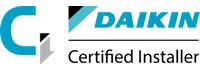 Daikin Certified Installer logo