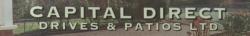 CAPITAL DIRECT DRIVES & PATIOS logo