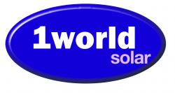1 World Solar logo