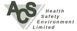 ACS HEALTH SAFETY & ENVIRONMENT logo