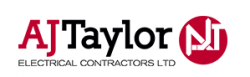 A J Taylor Electrical Contractors logo