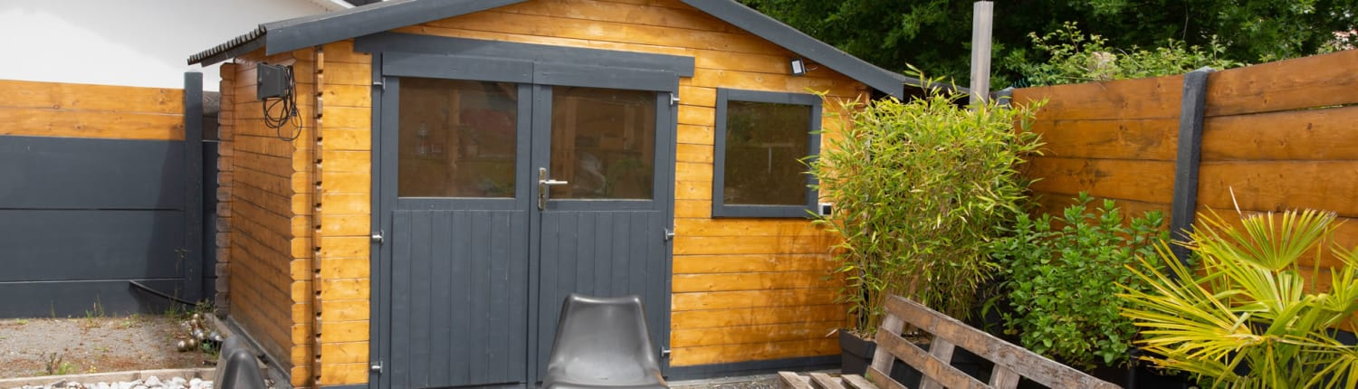Request Garden shed quote