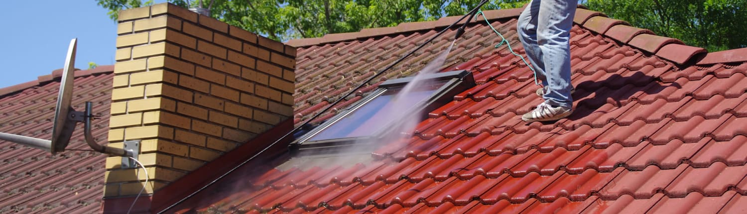 Request Roof cleaning quote