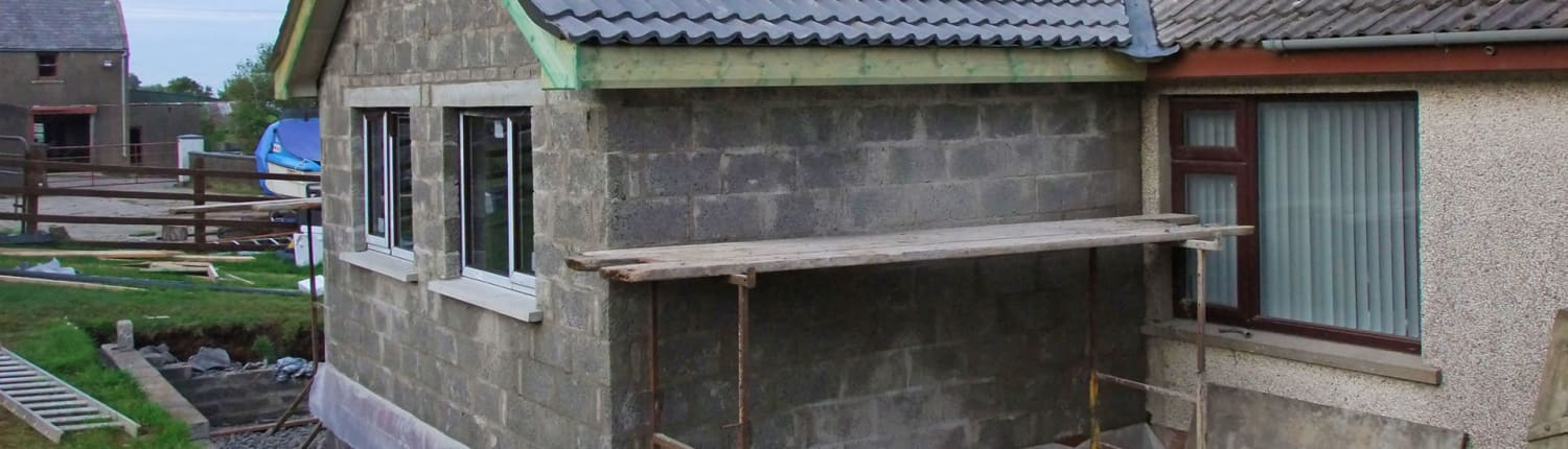 Request Single storey house extension quote