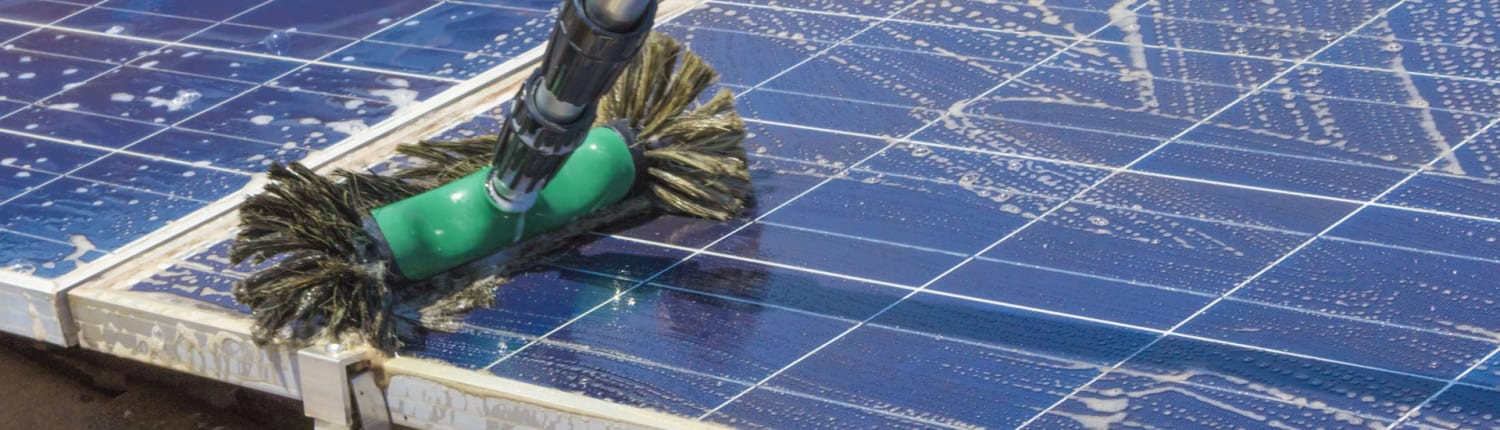 Request Solar panel cleaning quote