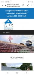 Mccarthy building services ltd Logo