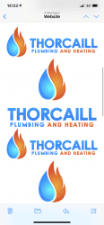 Thorcaill Plumbing and Heating Logo