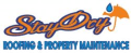 Stay dry roofing Logo