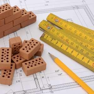 plano-arquitectura-ladrillos-metro-lápiz