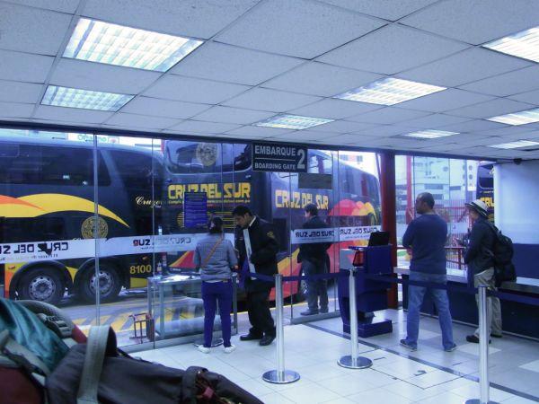 Cruz Del Sur Bus Terminal in Lima