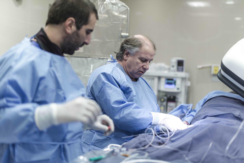 """""""El cateterismo terapéutico es un instrumento cada vez más versátil, que se impone más en la Medicina"""""""
