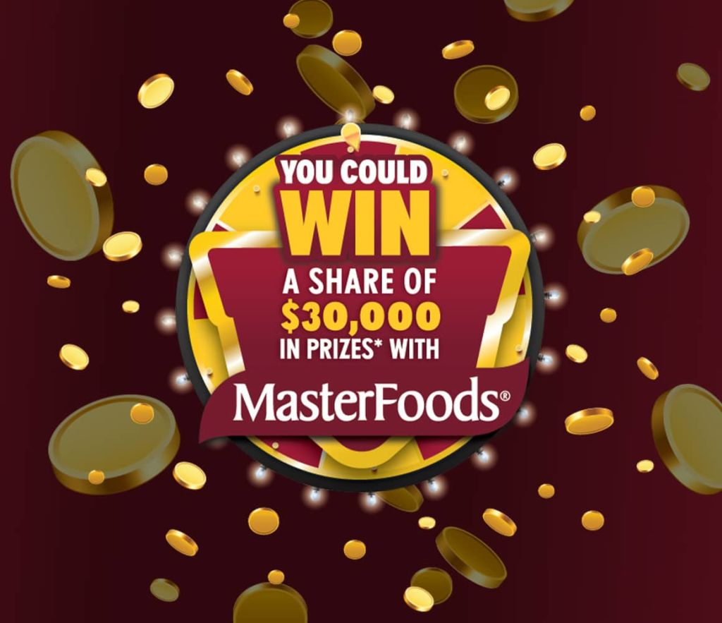 Masterfoods promotion banner