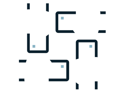 Hands in a group icon