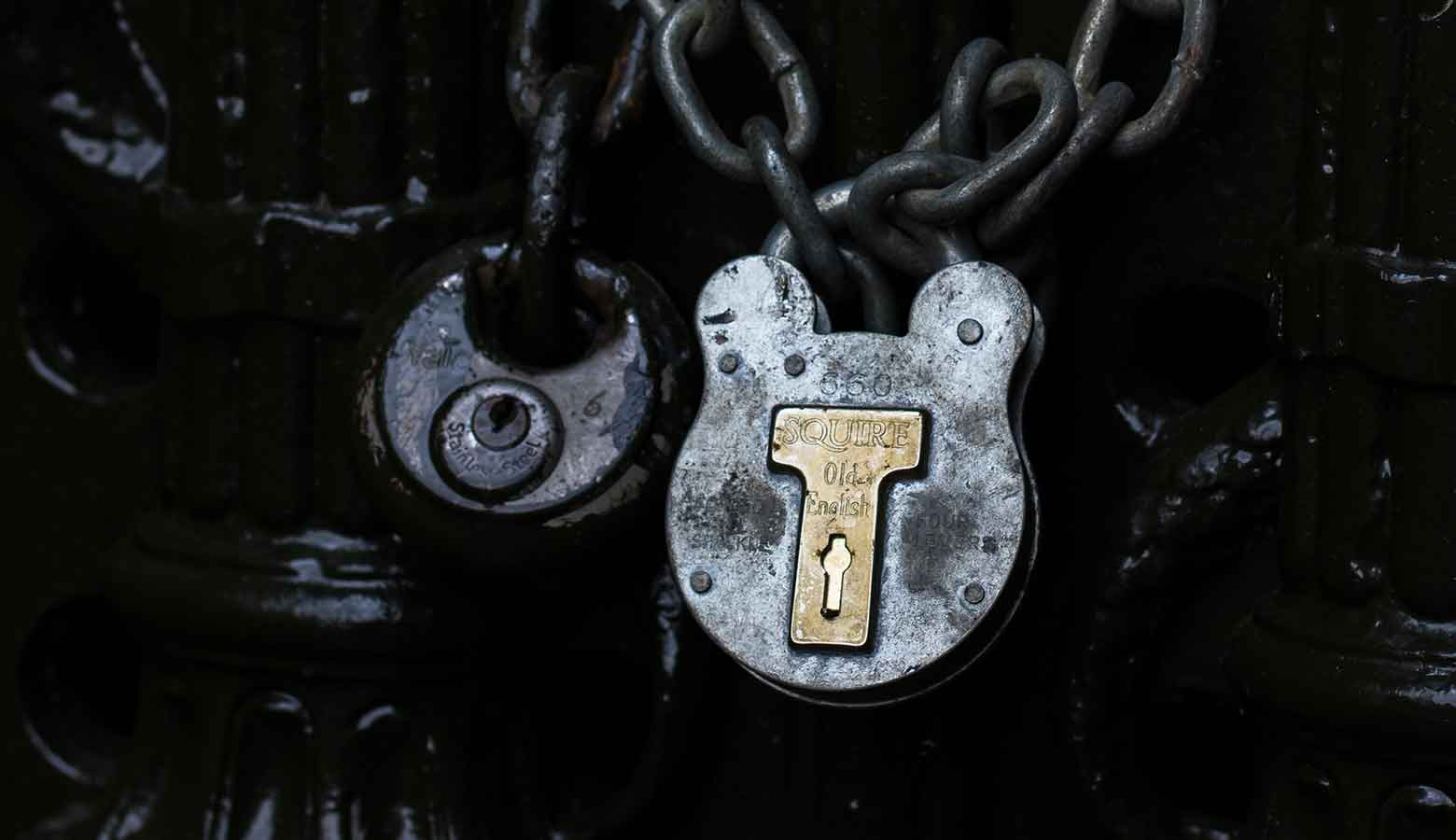 Image shows a lock to demonstrate the restrictions of GDPR