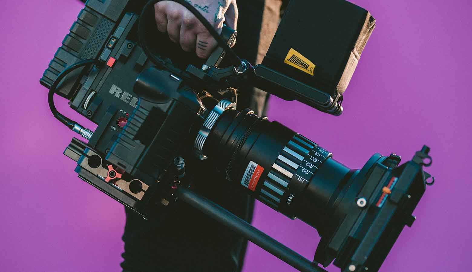 Image is of a video camera