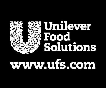 Unilever logo in white