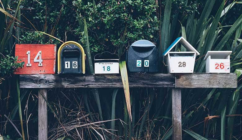 Segmenting the email database