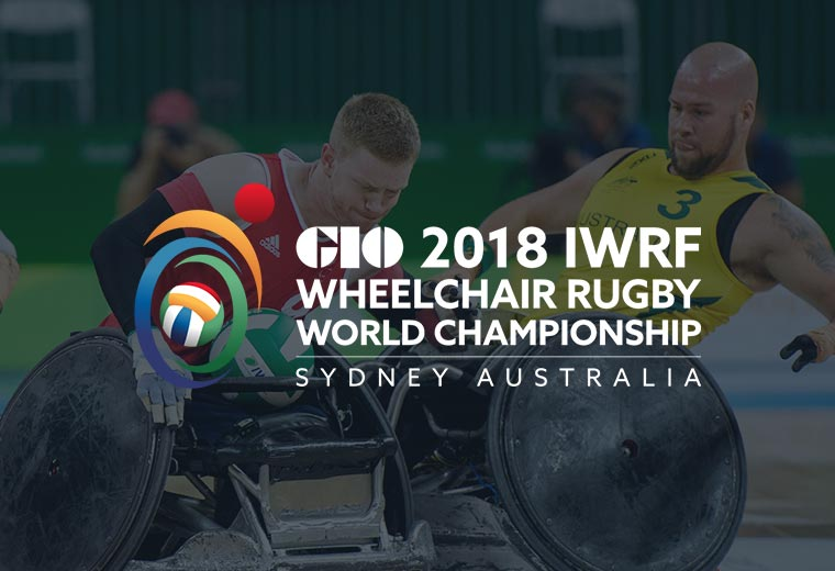 Wheelchair Rugby World Championship graphic