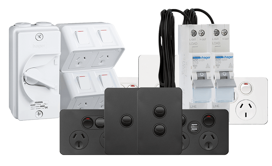 Hager switches