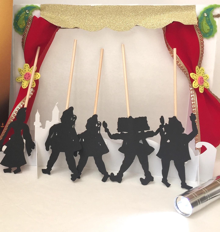 Ramayana Shadow Puppets