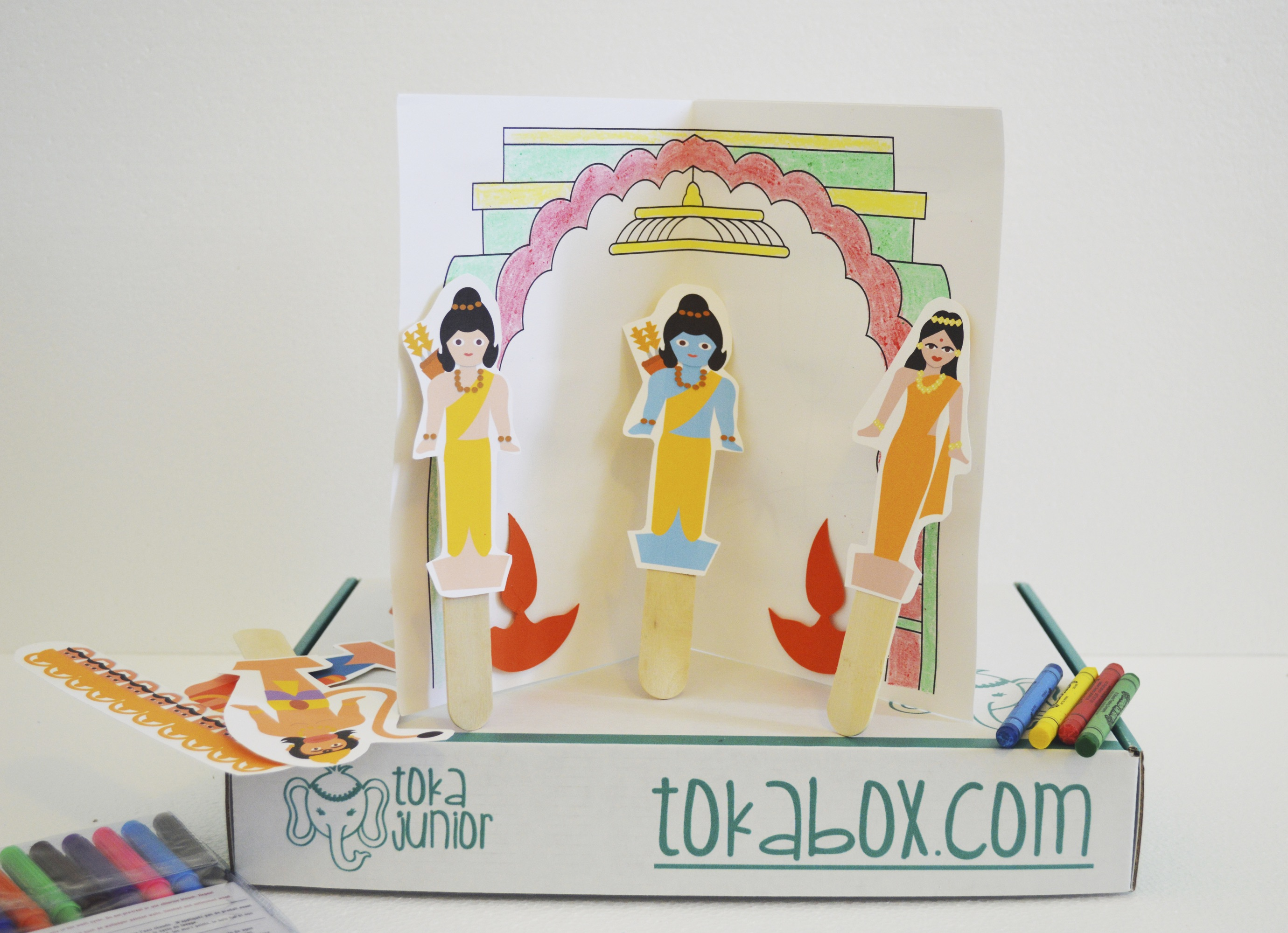 Ramayana Stick Puppet Kit